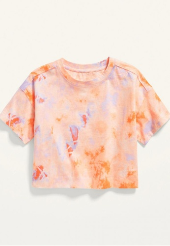 Old Navy orange Girls Vintage Short-Sleeve Cropped Tee 4F0B0KAE6F1B6EGS_1