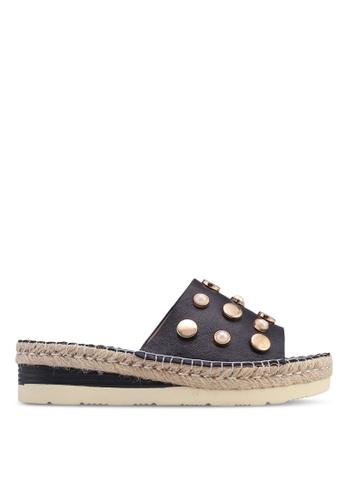 Carlton London 黑色 厚底涼鞋 958AASHB256EE2GS_1