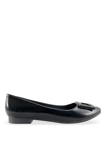 Footspot black FOOTSPOT - Pointed Toe Flats FO296SH2V7YHHK_1