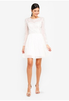 1ab1b46ce81 6% OFF Little Mistress White Prom Dress S  137.90 NOW S  129.90 Sizes 10 12
