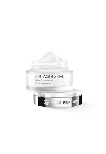 Yves Rocher white Yves Rocher Anti Age Global - Complete Anti-Aging Care Day (All Skin Types-Jar) (50ml) 155F4BEA9EB194GS_1