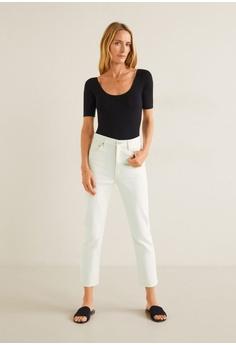 fc20d7d9e1e 56% OFF Mango Mom Slim Jeans S$ 89.90 NOW S$ 39.90 Sizes 34 36 38 40 42