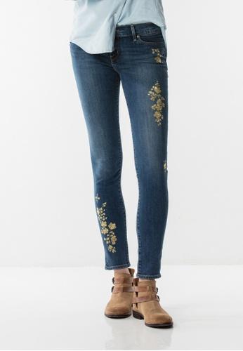 Levi's blue 711 Asia Skinny Jeans 14279AA715B4DEGS_1
