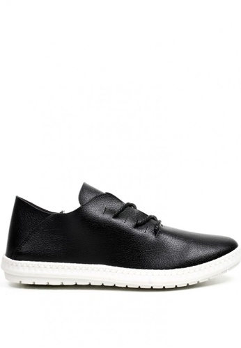New York Sneakers black Luis Low Cut Shoes NE675SH0J21QPH_1