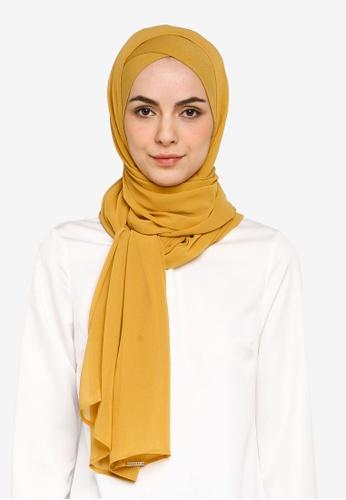 Bokitta yellow Mustardy FreeStyle Hijab 39988AA60B9CD6GS_1