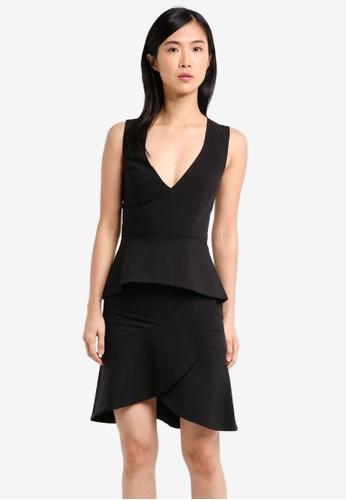 Bardot black Tulip Dress BA332AA0SYFNMY_1