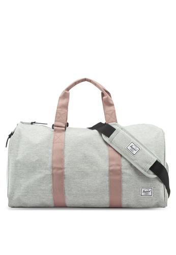 Herschel grey Novel Mid Volume Duffle Bag D543AAC2DB404BGS_1