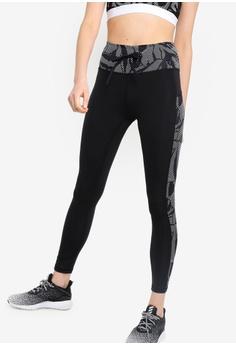 9a26428a9ebefd adidas black adidas performance bt hr linear floral print l tights  57AEFAA2A05740GS_1