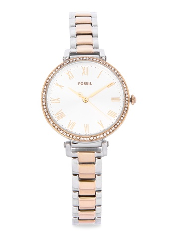 8708d4c8d4ed1 Shop Fossil Kinsey Analog Watch Es4449 Online on ZALORA Philippines