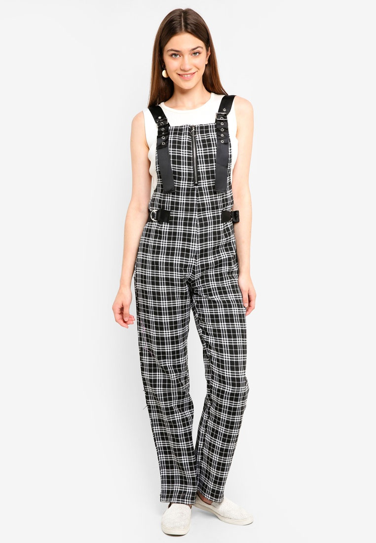 Overall Black Urban White Utility Factorie Check qTxPEO6w