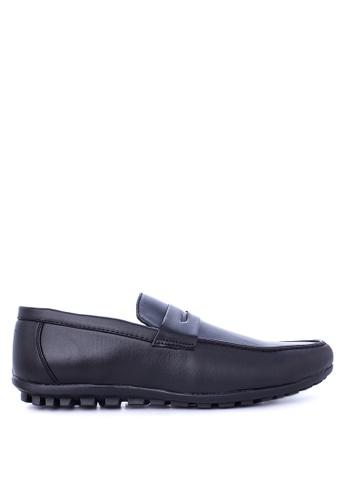 Italianos black Fabian Loafers & Moccasins IT153SH87GDGPH_1