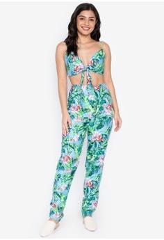 a9c01aca4b3 Shop Purple Shore Playsuits   Jumpsuits for Women Online on ZALORA  Philippines