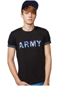 Army Life Camo Tee