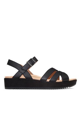 Vionic black Violet Platform Sandal 7B014SHF53294AGS_1