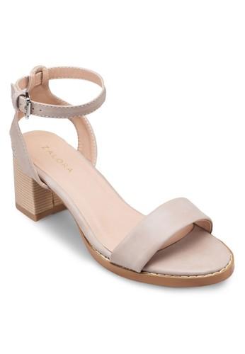 踝帶zalora taiwan 時尚購物網粗跟涼鞋, 女鞋, 鞋