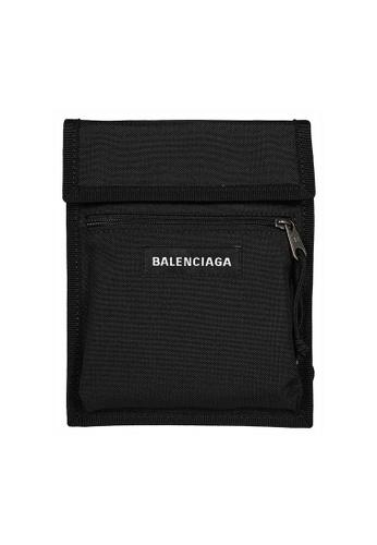 Balenciaga black Balenciaga Explorer Crossbody Bag in Black 8A2CAACB03BE3CGS_1