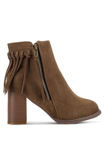 Sunnydaysweety beige 2018 New Tassel Ankle Boot RA10128KI 7CCD6SHE8C0E5AGS_1