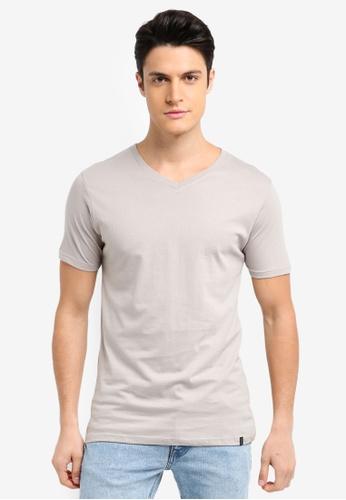 Factorie 綠色 素色短袖T恤 6DAC1AA2CF1EE9GS_1