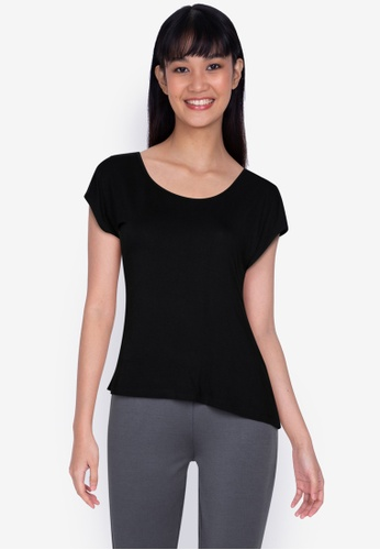 ZALORA BASICS black Basic T-Shirt 5C26AAAD80CC95GS_1