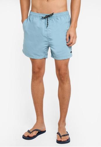 Factorie blue Jose Poolboy Shorts D9D8AAA3831635GS_1