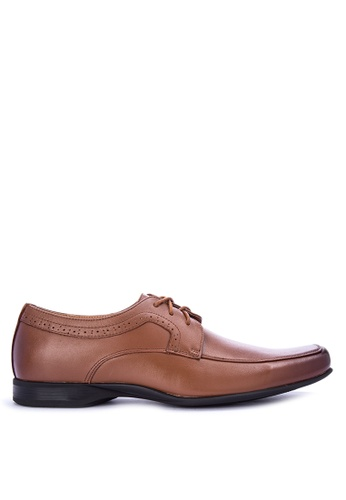 Gibi brown Sum Dress Shoes CE048SH66853AFGS_1