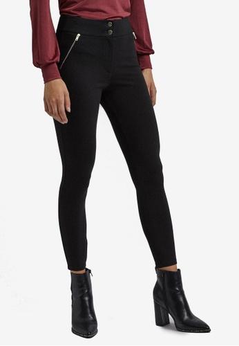 Dorothy Perkins black Black Zip Pocket Treggings 7A6B6AA6E05FEEGS_1