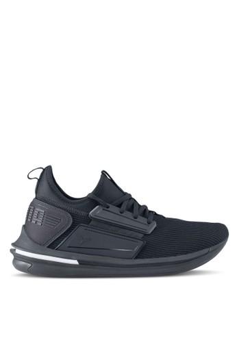 Puma black Ignite Limitless Sr Shoes 19133SHF280B72GS_1