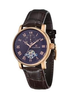 Thomas Earnshaw Westminster Es-8042-05 Men's Genuine Leather Strap Watch
