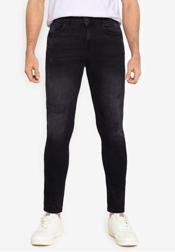 Aeropostale black Super Skinny Fit Jeans DE642AA3657653GS_1