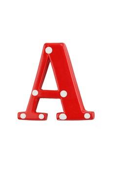 Alphabet Brooch