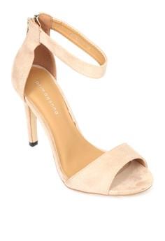 Ankle Strap Heeled Sandals