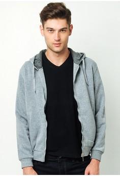 Ryan Men's Plain Hoodie Jacket