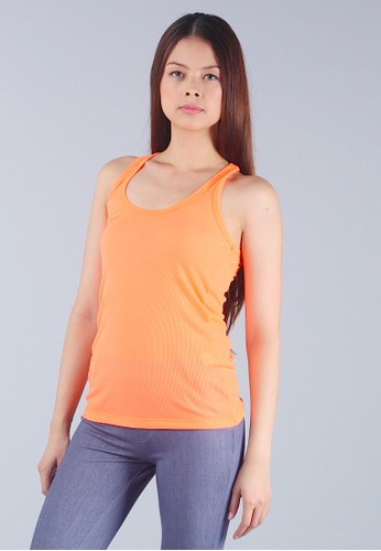 Orange Basic Tank Top
