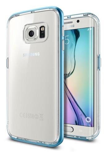 Spigen Spigen Neo Hybrid CC for Samsung Galaxy S6 Edge - Blue Topaz I