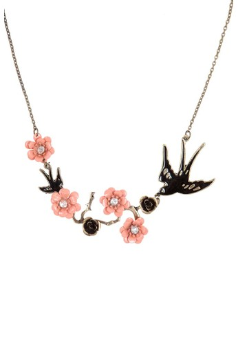 Sakura Swallow Necklace