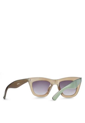 Eyeglasses Frame Zalora : TOPSHOP - Cruella Cateye Sunglasses