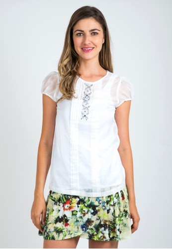 Zalora White Blouse 16