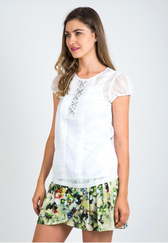 Zalora White Blouse 43