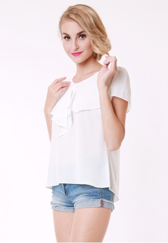 Zalora White Blouse 70