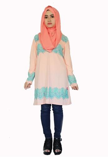 Mumo's Gallery Lace Blouse Salem+hijab I Beli di ZALORA ...