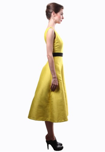 yellow dress online malaysia boutique