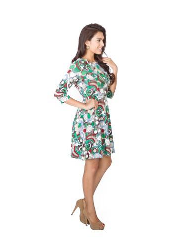 Ancee chantelle modern ethnic fusion dress