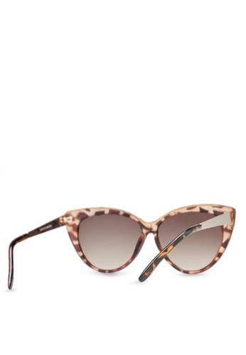 Eyeglasses Frame Zalora : TOPSHOP - Simone Cateye Sunglasses