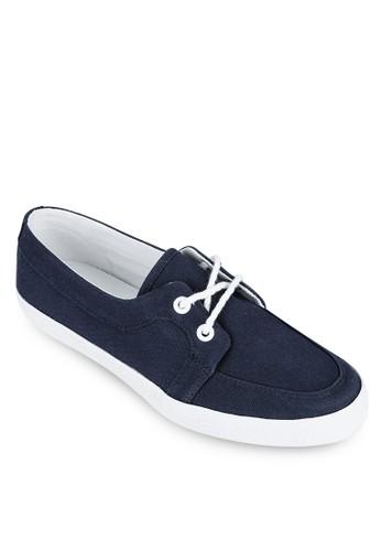 zalora canvas boat shoes