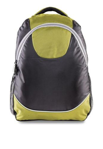 雙色結構筆電後背包