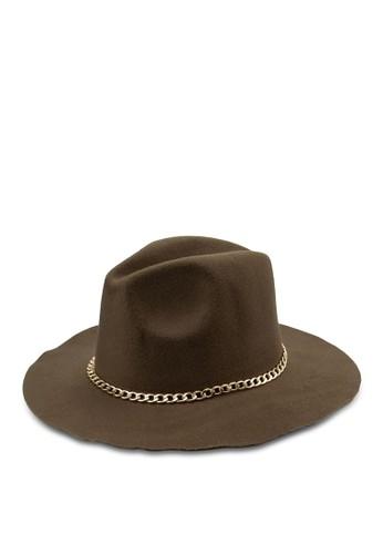 鏈飾氈帽紳士帽