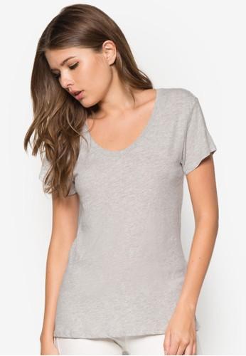 圓領棉質T 恤 - 258727