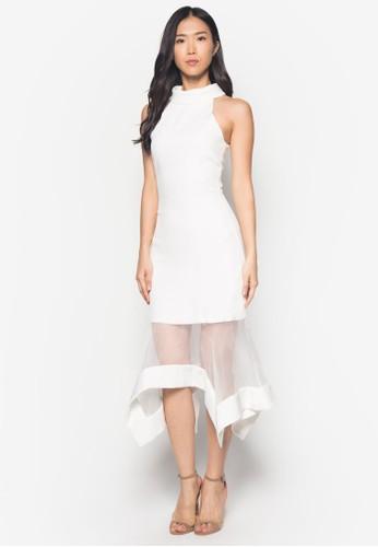 Juniper 薄紗拼接洋裝 - 257753