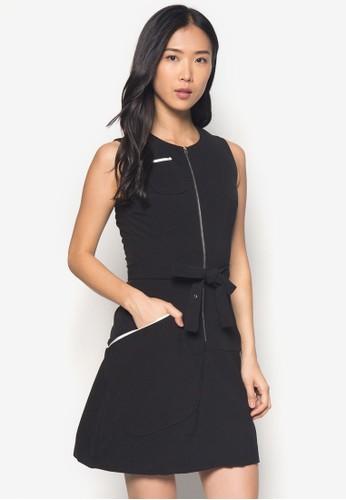 Bettie 無袖連身裙 - 256853