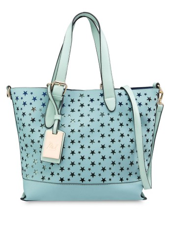 Star Perforated Tote Bag - 205627